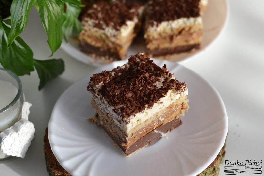 Ciasto Czekoladowa krówka bez pieczenia