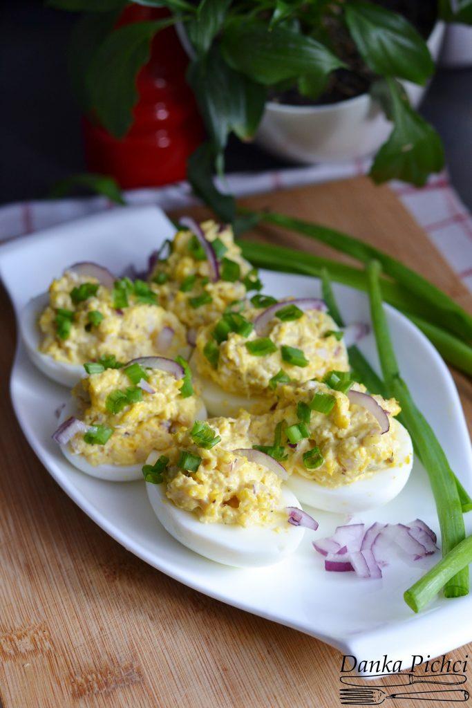 Jajka faszerowane chrzanem